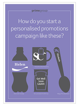 How do you start a personalised promotions campaign